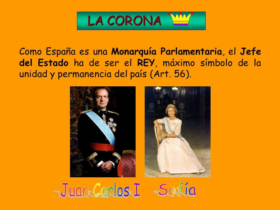 Juan Carlos I Sofía LA CORONA