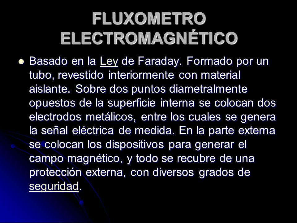 FLUXOMETRO ELECTROMAGNÉTICO