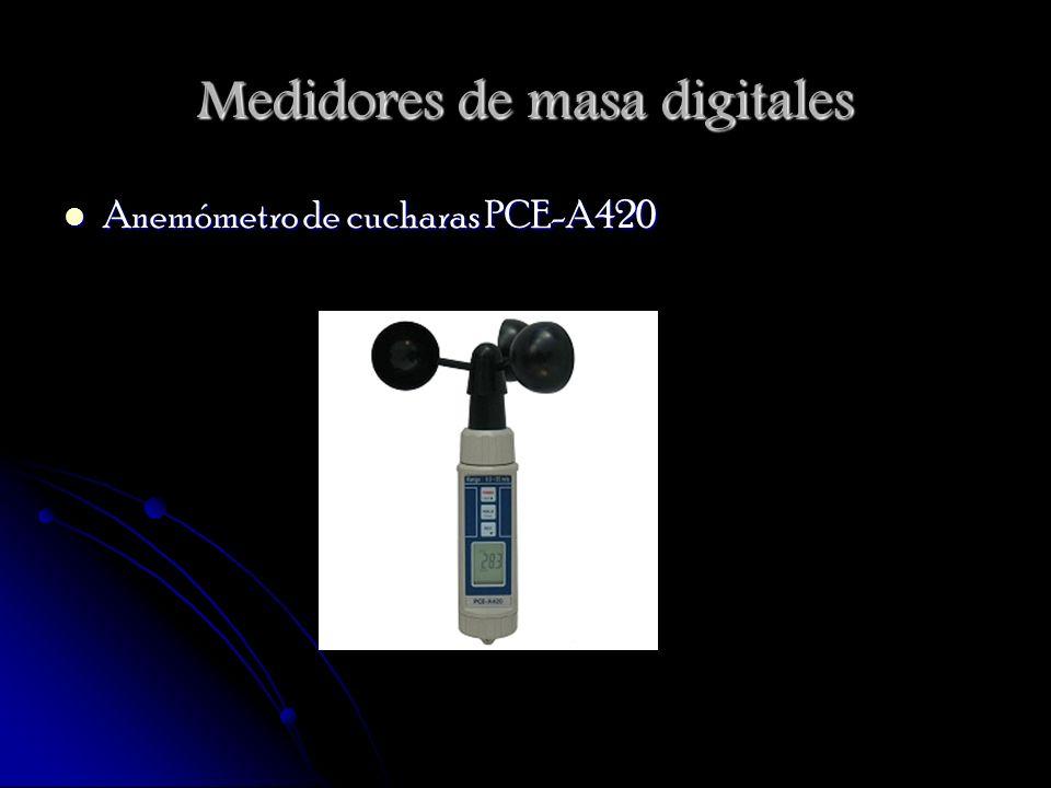 Medidores de masa digitales