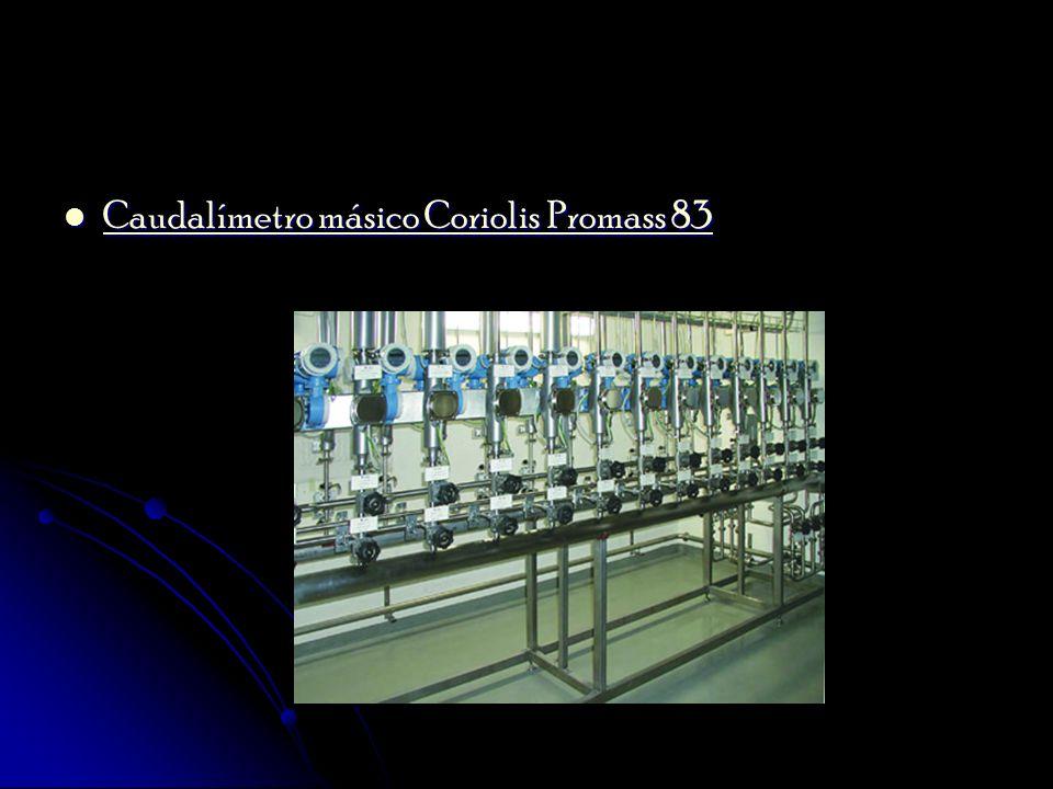 Caudalímetro másico Coriolis Promass 83