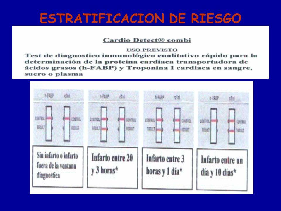 ESTRATIFICACION DE RIESGO