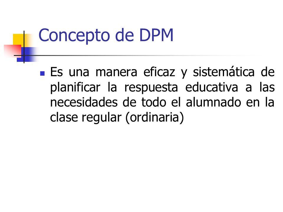 Concepto de DPM