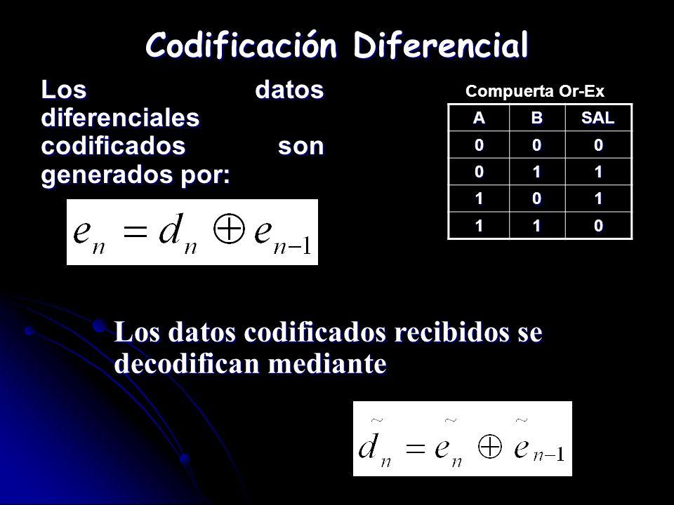 Codificación Diferencial
