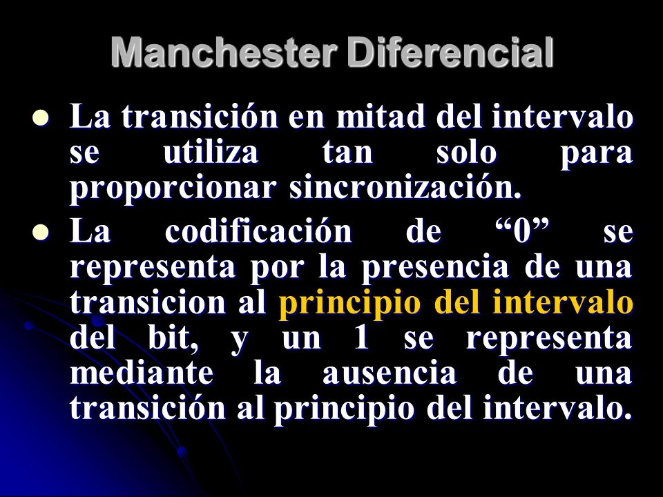 Manchester Diferencial
