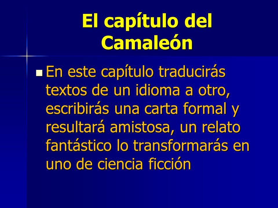 El capítulo del Camaleón