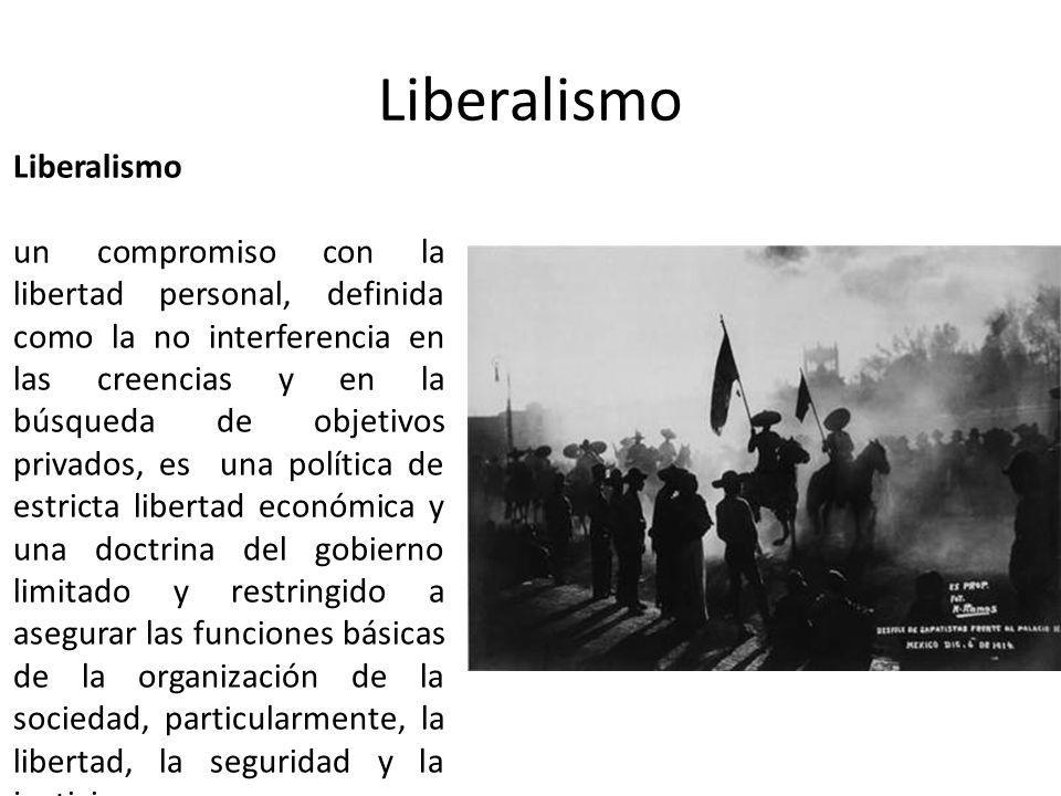 Liberalismo Liberalismo