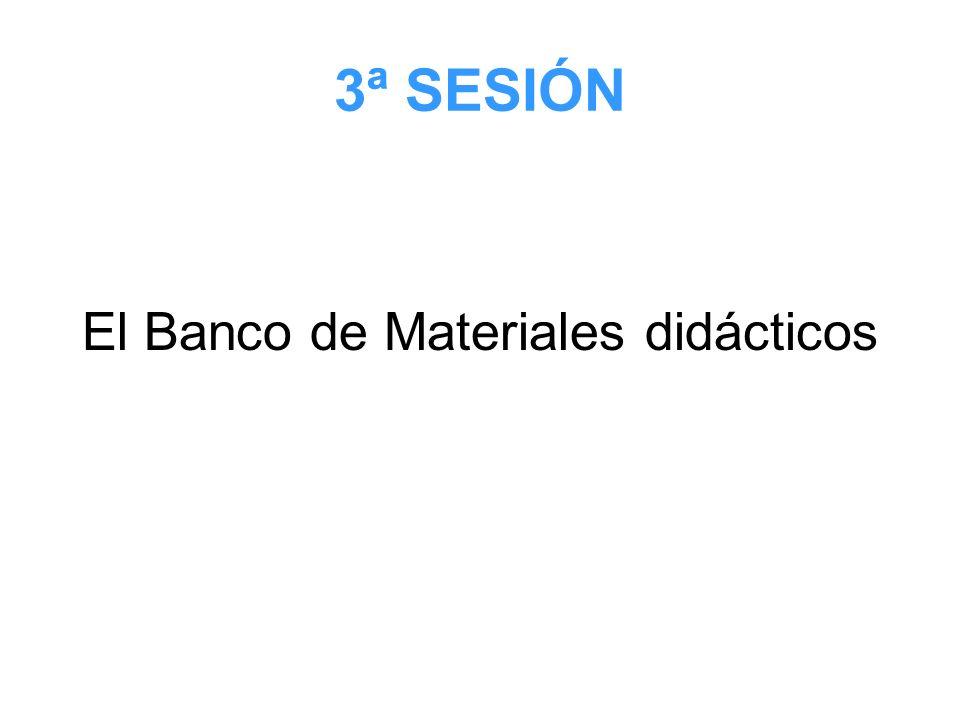 El Banco de Materiales didácticos