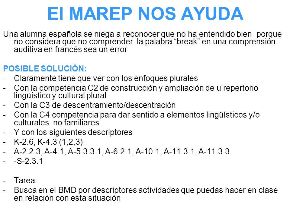El MAREP NOS AYUDA