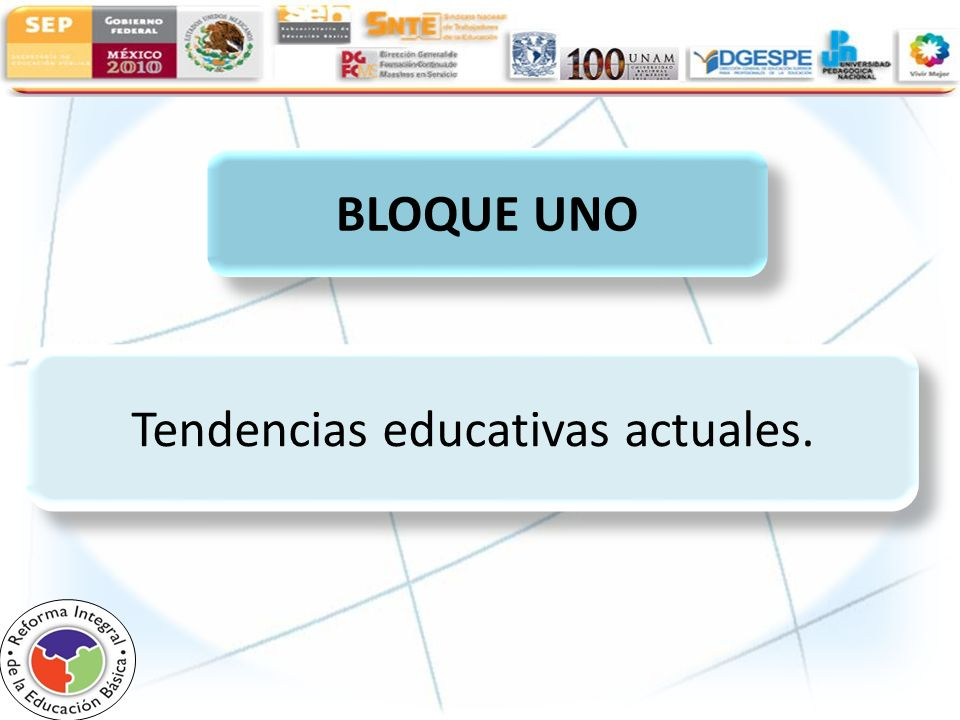 Tendencias educativas actuales.