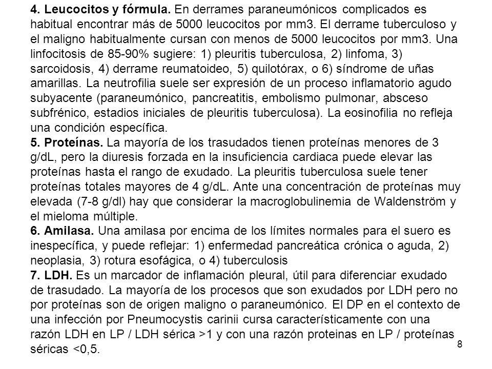 4. Leucocitos y fórmula.
