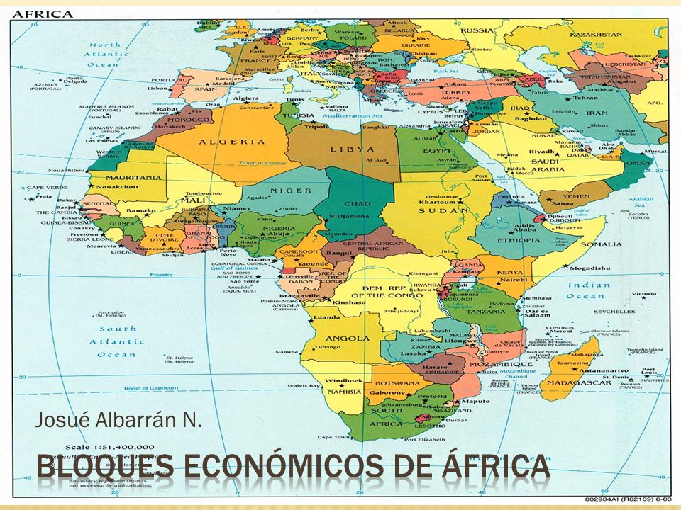Bloques económicos de áfrica