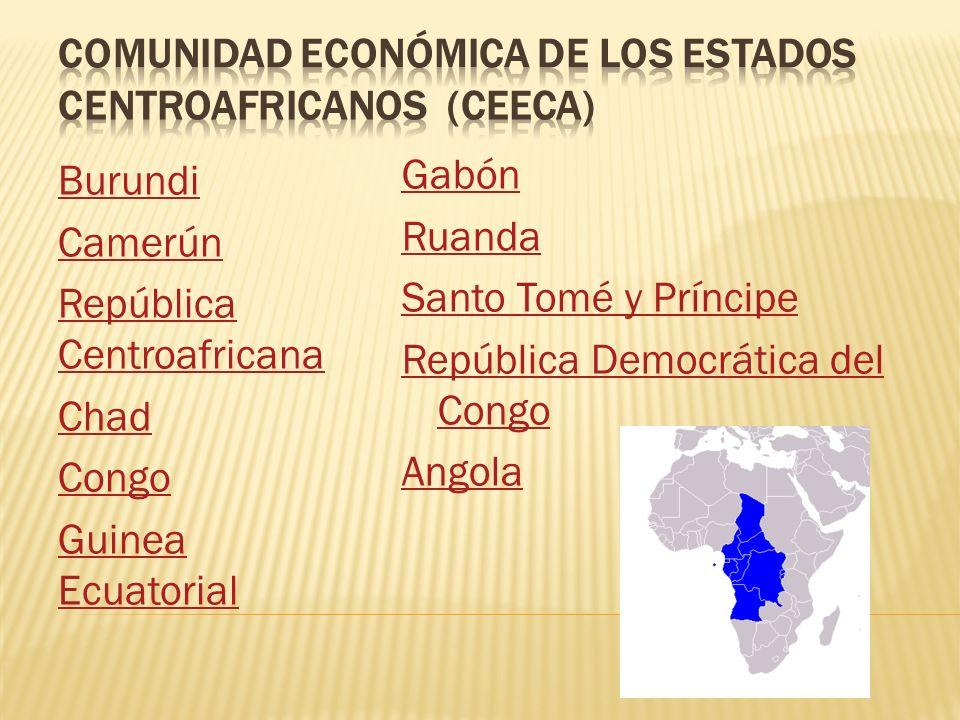 Comunidad económica de los estados centroafricanos (CEEca)