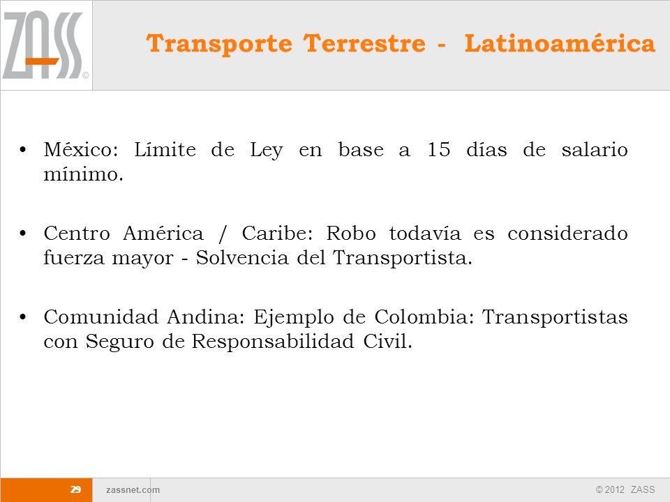 Transporte Terrestre - Latinoamérica