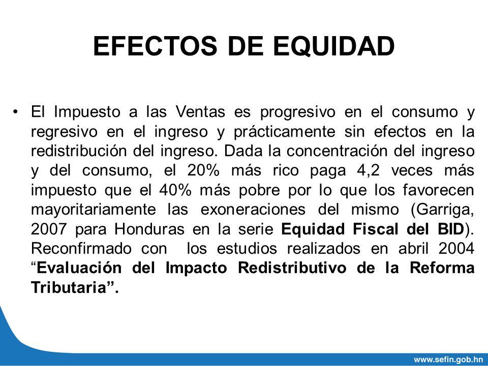 EFECTOS DE EQUIDAD
