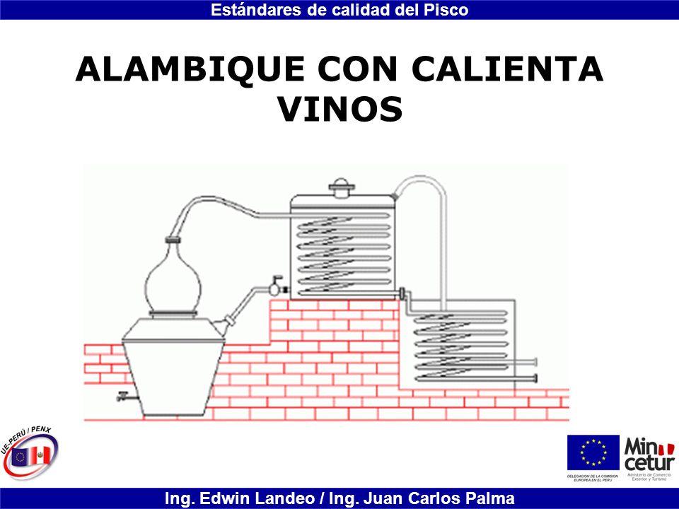 ALAMBIQUE CON CALIENTA VINOS