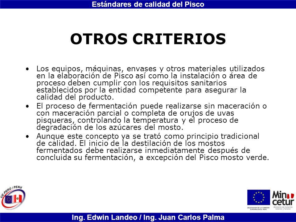 OTROS CRITERIOS