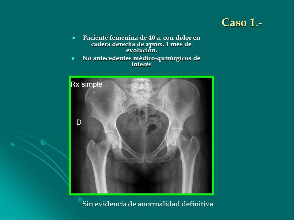 No antecedentes médico-quirúrgicos de interés