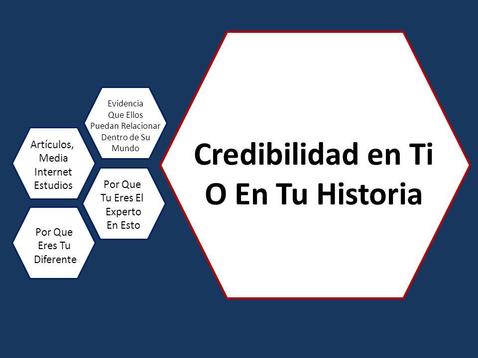 Credibilidad en Ti O En Tu Historia
