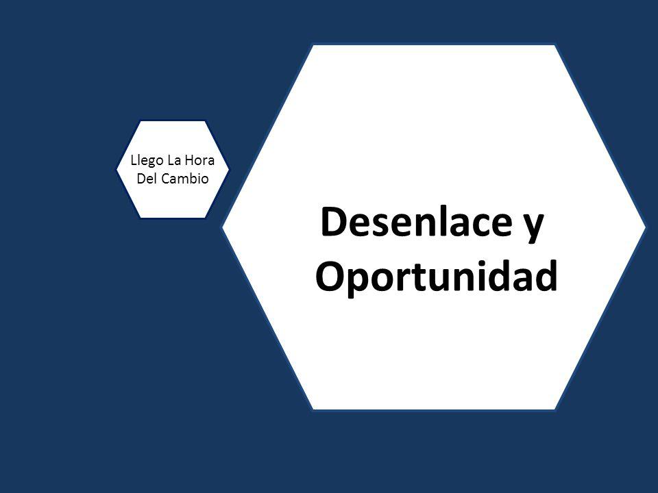 Desenlace y Oportunidad