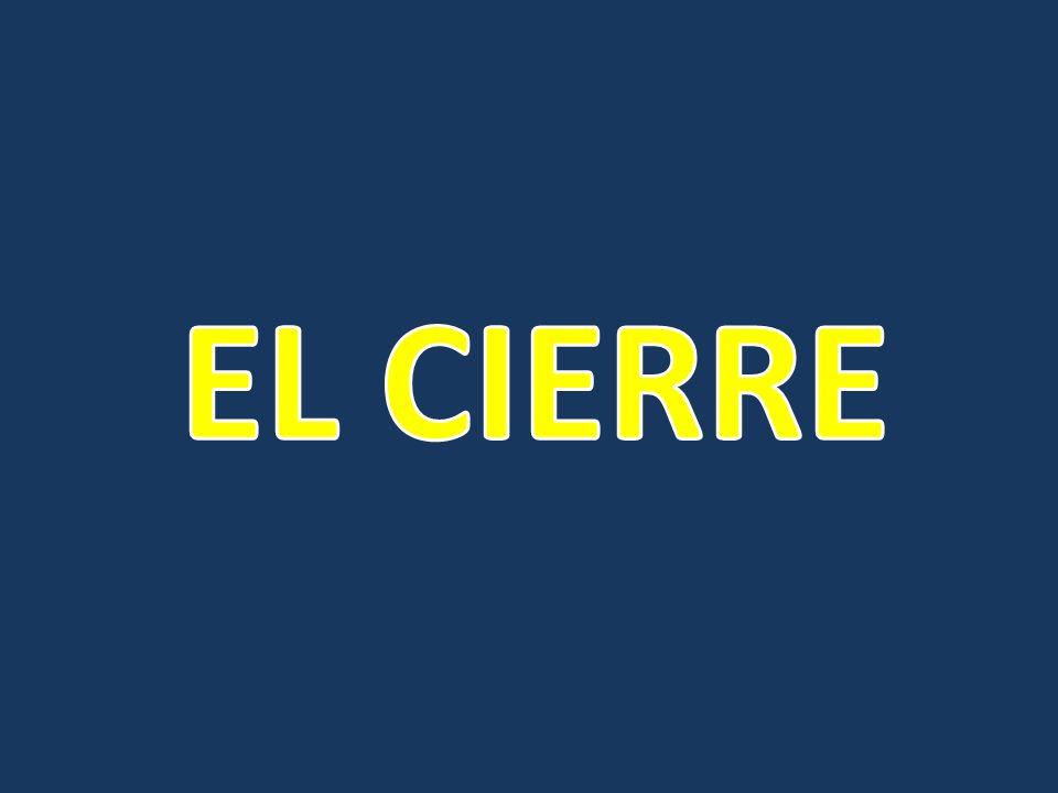 EL CIERRE