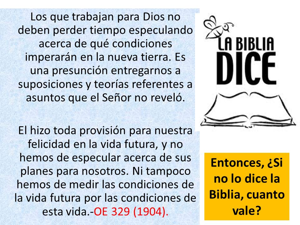 Entonces, ¿Si no lo dice la Biblia, cuanto vale
