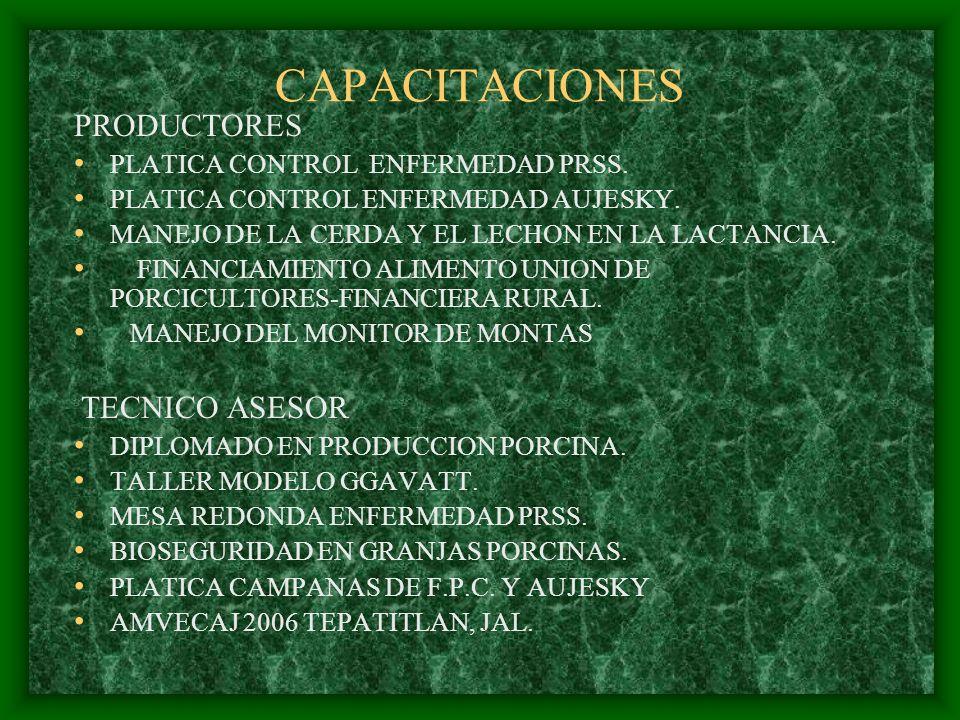 CAPACITACIONES PRODUCTORES PLATICA CONTROL ENFERMEDAD PRSS.