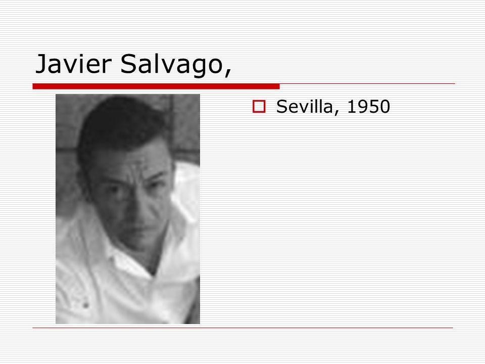 Javier Salvago, Sevilla, 1950
