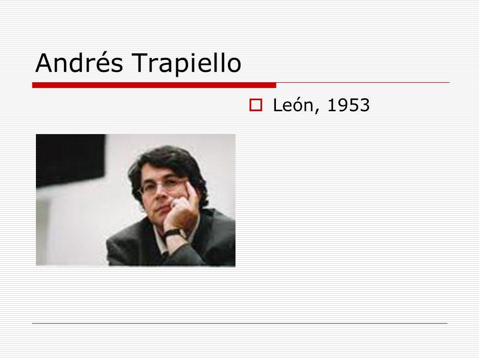 Andrés Trapiello León, 1953