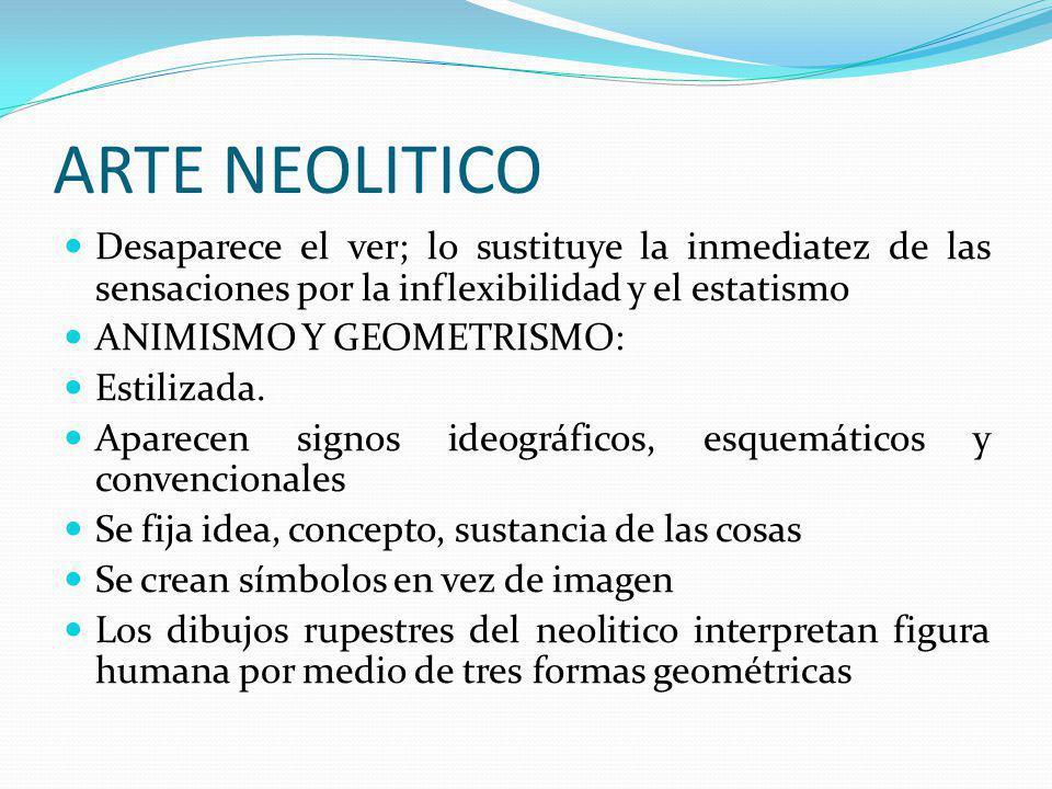 ARTE EN EL PALEOLITICO Y NEOLITICO  ppt video online descargar