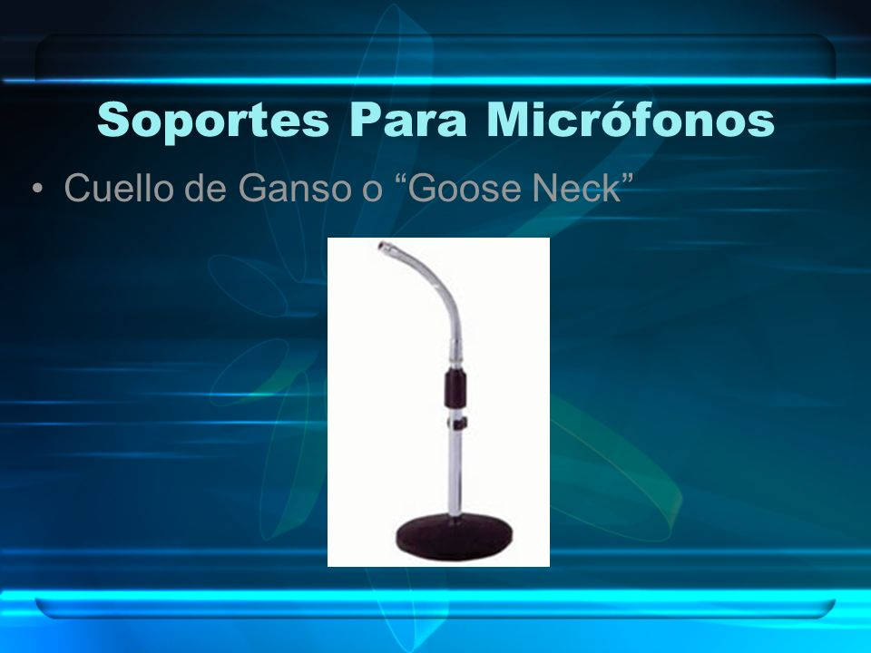 Soportes Para Micrófonos