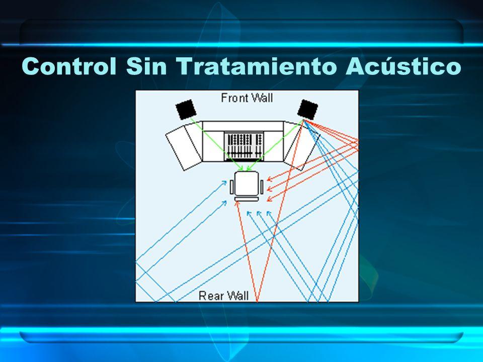 Control Sin Tratamiento Acústico