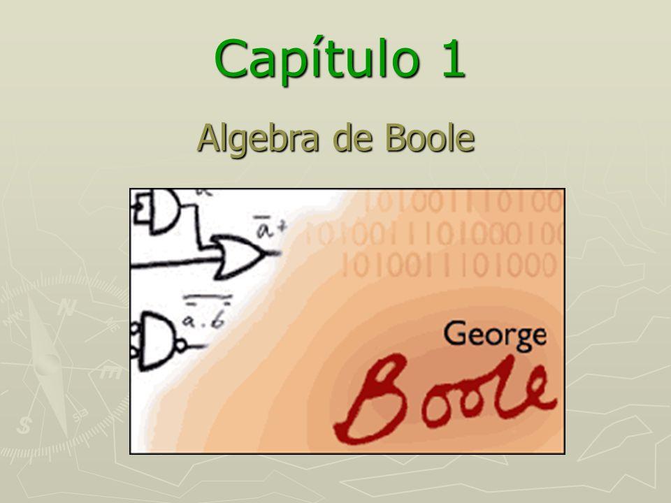 Capítulo 1 Algebra de Boole