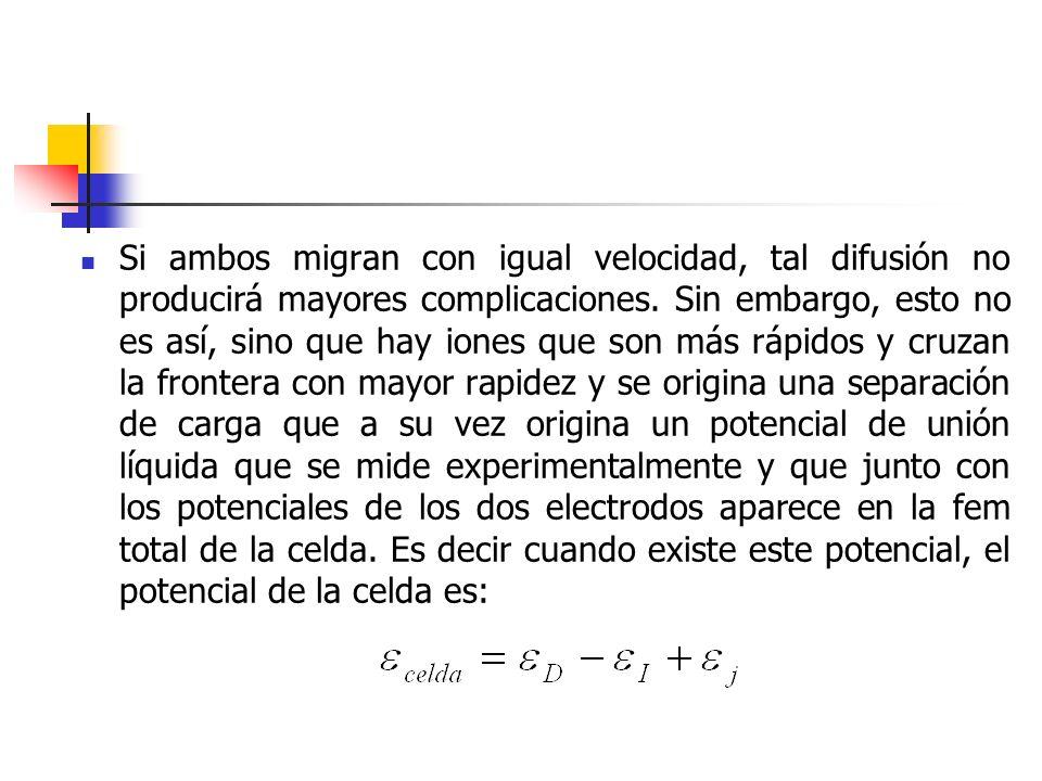 Si ambos migran con igual velocidad, tal difusión no producirá mayores complicaciones.