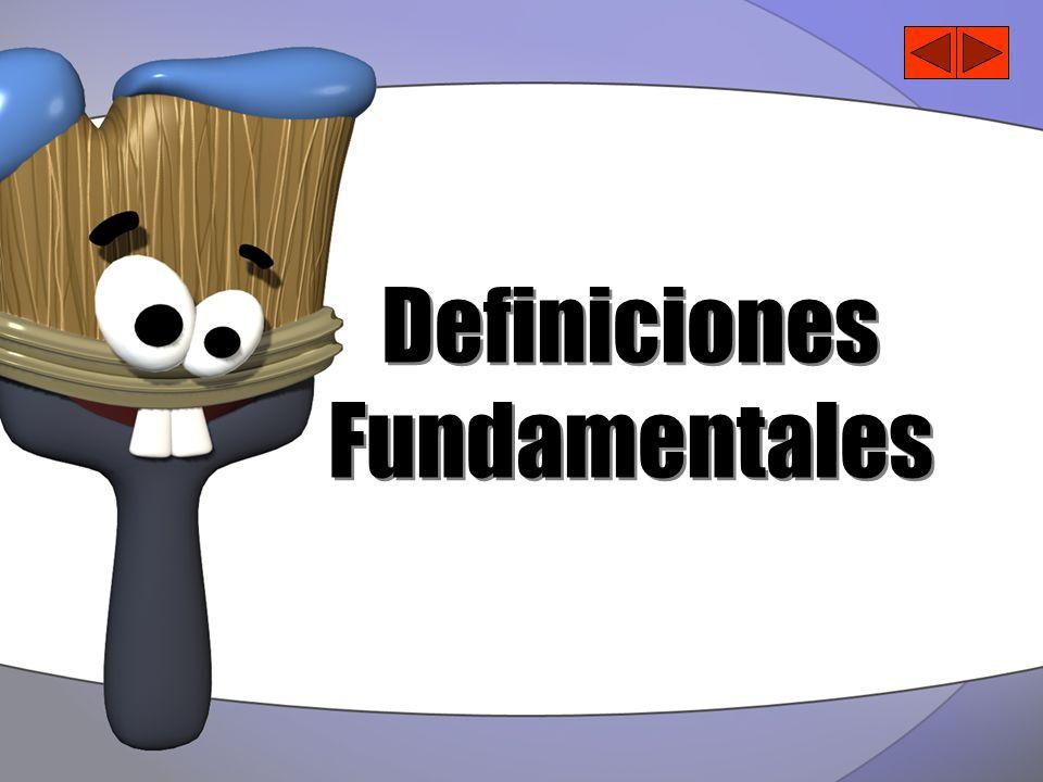 Definiciones Fundamentales