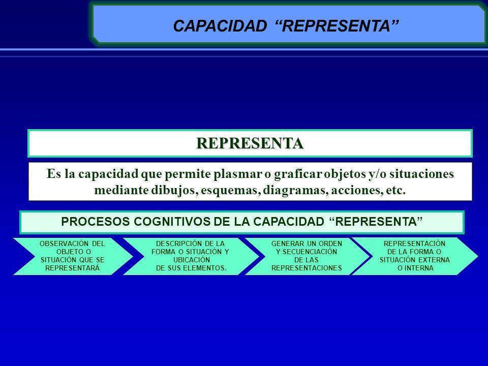 CAPACIDAD REPRESENTA