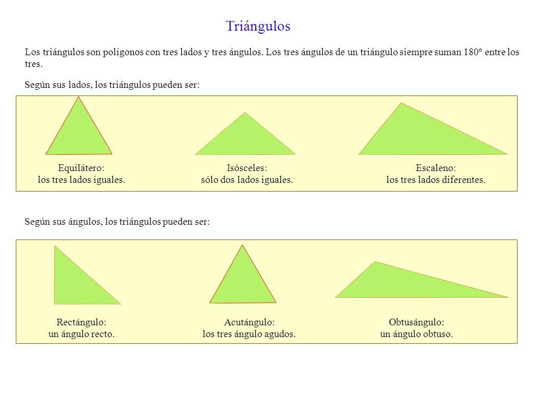 los tres lados diferentes.
