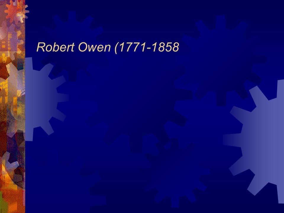 Robert Owen (1771-1858