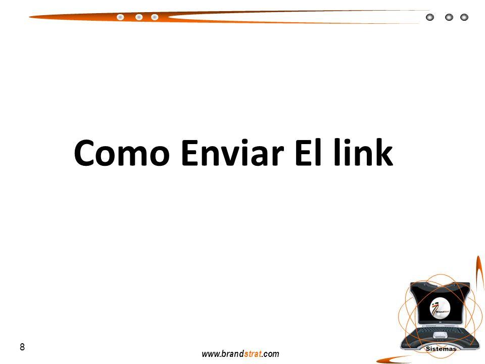Como Enviar El link