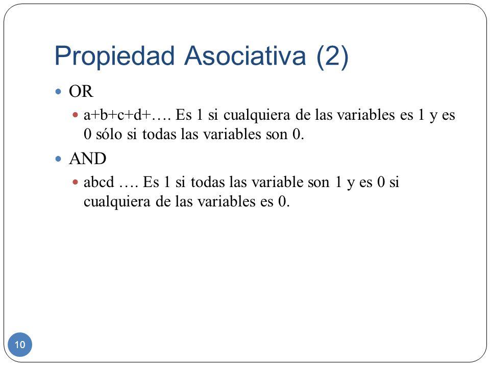 Propiedad Asociativa (2)