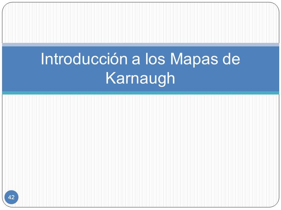 Introducción a los Mapas de Karnaugh