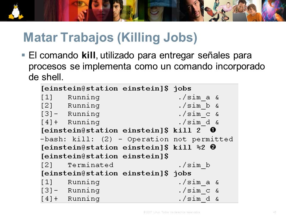 Matar Trabajos (Killing Jobs)