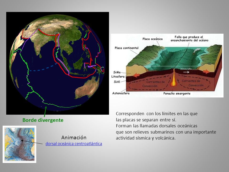 dorsal oceánica centroatlántica