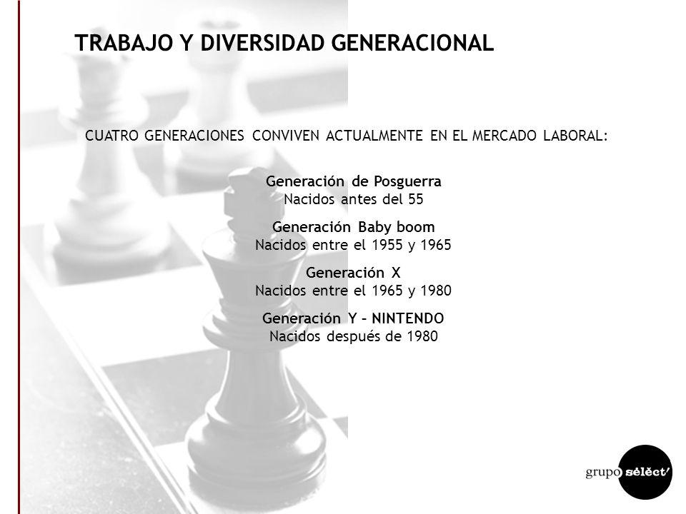 TRABAJO Y DIVERSIDAD GENERACIONAL