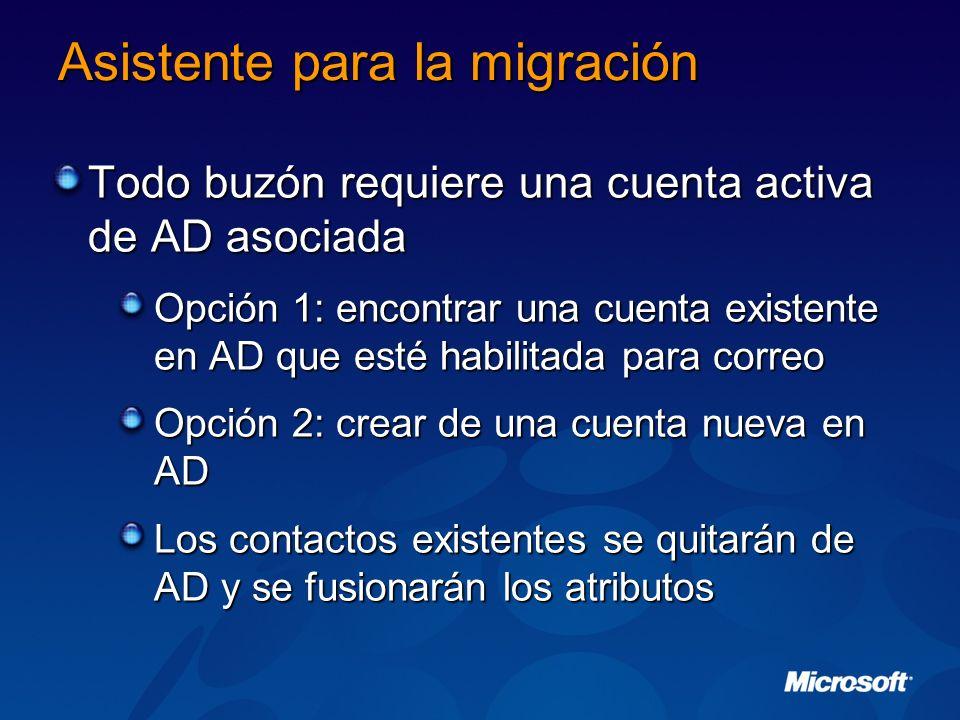 Asistente para la migración