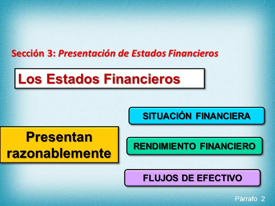 Presentan razonablemente RENDIMIENTO FINANCIERO