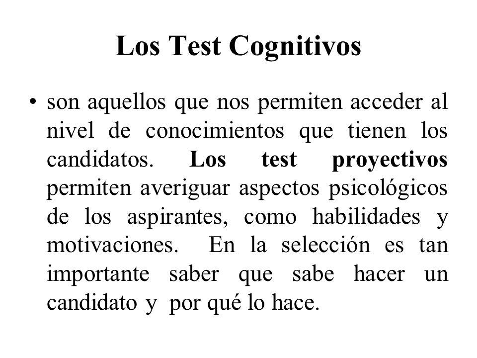 Los Test Cognitivos