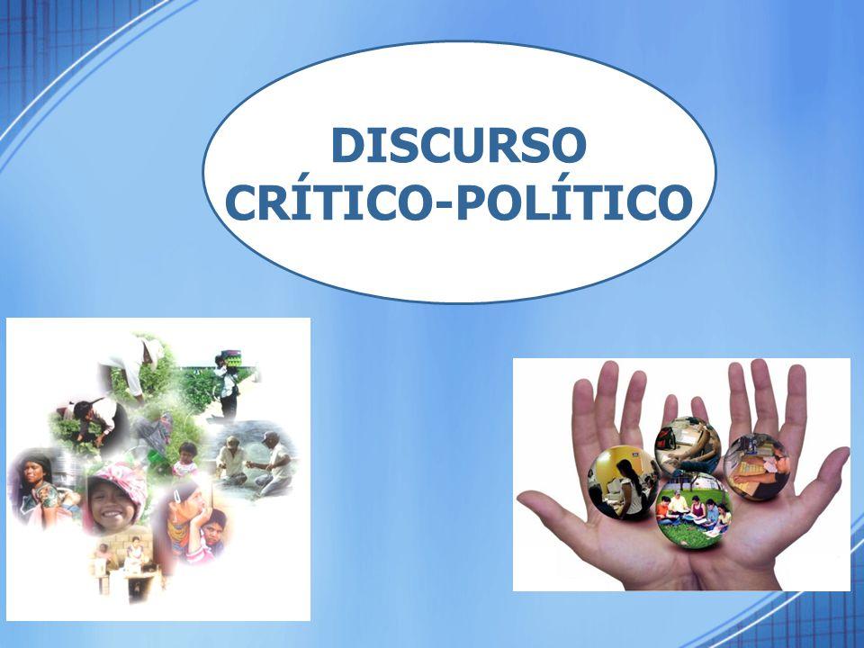 DISCURSO CRÍTICO-POLÍTICO