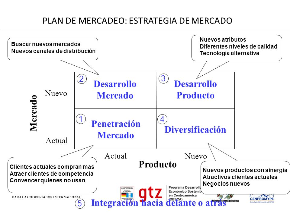 PLAN DE MERCADEO: ESTRATEGIA DE MERCADO