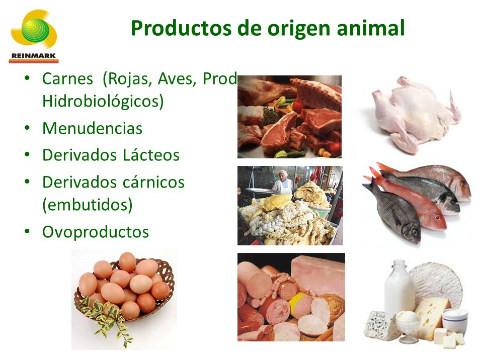 Productos de origen animal