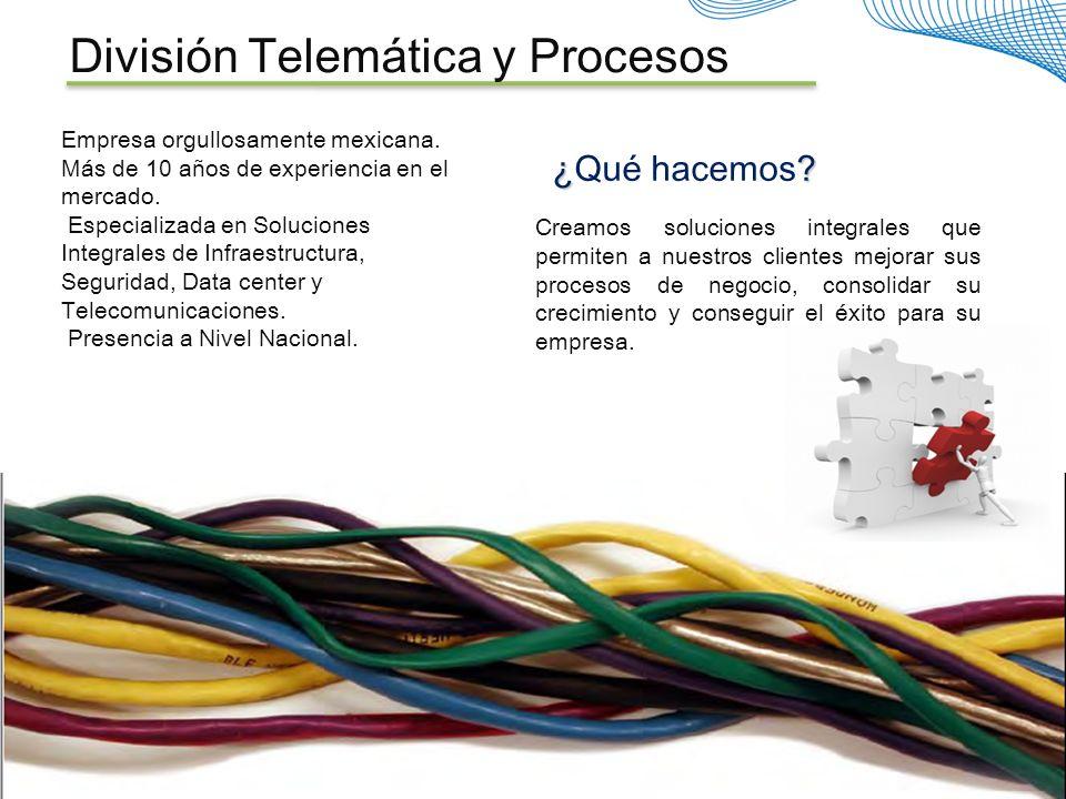 División Telemática y Procesos